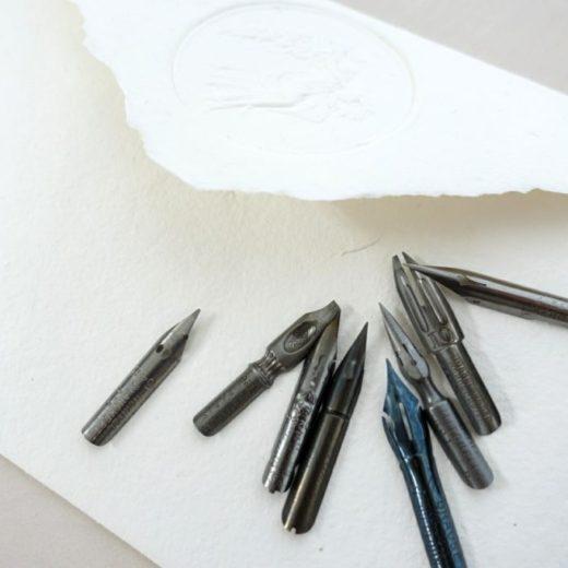 フランス・アンティークのペン先
