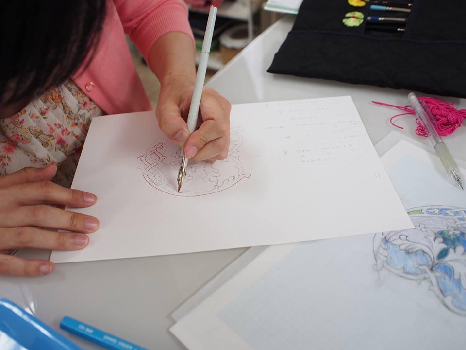 カリグラフィ―教室モジ・アカデミア